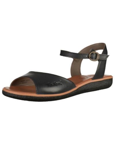 kickers damen kickers sandalen schwarz reduziert. Black Bedroom Furniture Sets. Home Design Ideas