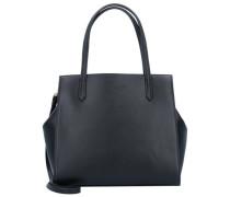 'Nina' Handtasche Leder 28 cm schwarz