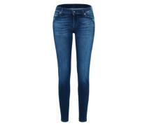 Skinny Jeans mit Mid-Waist blue denim