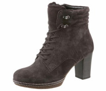 -Ankle-Boots dunkelgrau