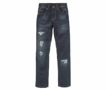 Regular-fit-Jeans grey denim