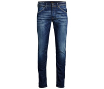Slim Fit Jeans 'Glenn' blau