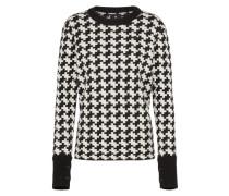 Pullover 'Evalak' schwarz / weiß