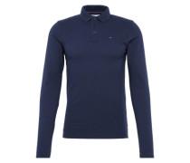Shirt 'tjm Basic REG Polo L/S 11' dunkelblau