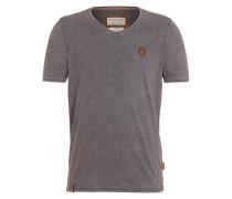 T-Shirt 'Schimpanski' blau / grau