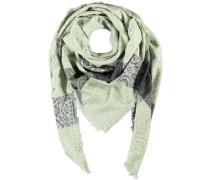 Viskose-Tuch braun / khaki / pastellgrün / hellgrün