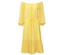 Carmenkleid gelb