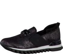 Slip-On Sneaker schwarz
