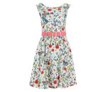 Sommerkleid 'Poppy' weiß / mischfarben