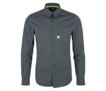 Stretch-Hemd dunkelgrau