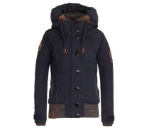 Female Jacket Shortcut III marine / braun / graumeliert