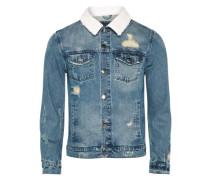 Jeansjacke 'Classic' blue denim