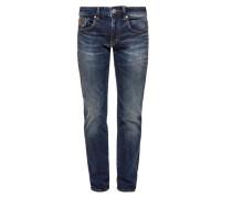 Close Slim: Dunkle Jeans