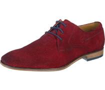 Business Schuhe rubinrot