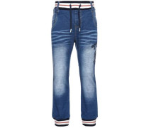 Loose Fit Jeans nital blau