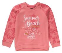 Sweatshirt für Mädchen gold / apricot / rot / weiß