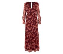 Kleid 'vmkaya' mischfarben / bordeaux