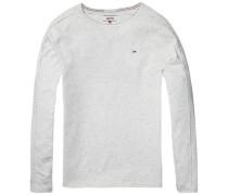 Langarmshirt im Inside-Out-Design beige