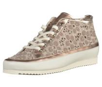 Sneaker hellbeige / bronze