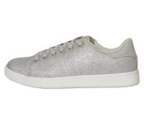 Glitzer-Sneaker silber
