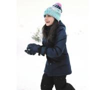Parka-Winterjacke 'Freeze' dunkelblau