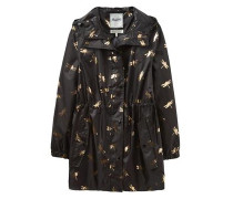 Parka 'golightly' gold / schwarz