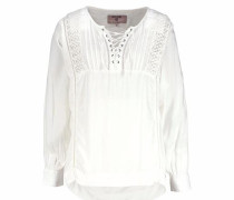 Longbluse offwhite