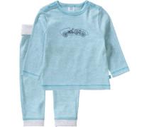 Baby Schlafanzug für Jungen blau