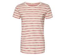 T-Shirt Stripe weiß