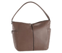 Hobo Bag aus Leder braun