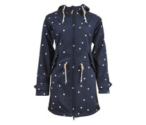 Outdoorjacke 'Island Friese Dots' navy