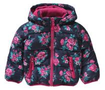 Baby Winterjacke für Mädchen blau / pink