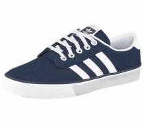 Canvas-Sneaker 'Kiel' enzian / weiß