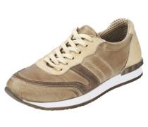 Sneaker creme / braun