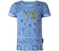T-shirt 'Fairfox' blau