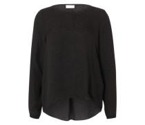 'VIMelli' Langarmshirt schwarz