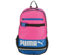 Rucksack für Mädchen 24l blau / pink