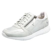 Metallic-Sneaker silber