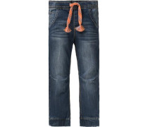 Jeanshose für Jungen UV-Schutz 30+ blau
