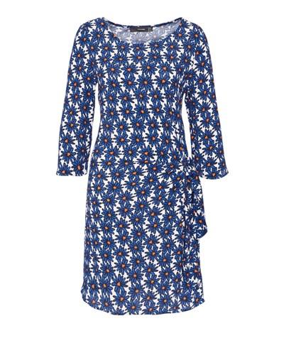 HALLHUBER Damen HALLHUBER Blumenprint-Kleid mit seitlicher ...
