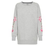 Oversize Sweater graumeliert