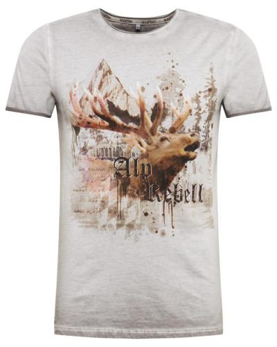 Shirt 'm71 Alprebell ' hellgrau