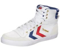 'Stadil' High Sneaker blau / rot / weiß