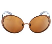 Sonnenbrille braun