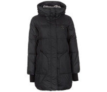 Core Long Length Puffer Wintermantel Damen schwarz