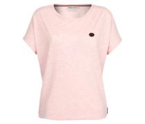 T-Shirt 'Schnella Baustella Iii' pink