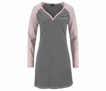 Nachthemd grau / altrosa