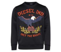 Sweater 's-Joe-Ra Sweat-Shirt' blau / rot / schwarz