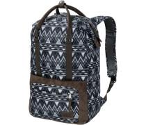 'tuscon Pack' Daypack blau / braun