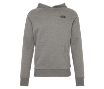 Sweatshirt 'M Raglan RED BOX HD' grau